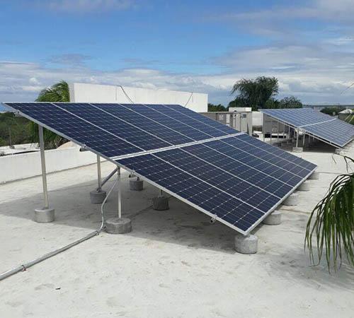 Energía solar con paneles solares para negocios