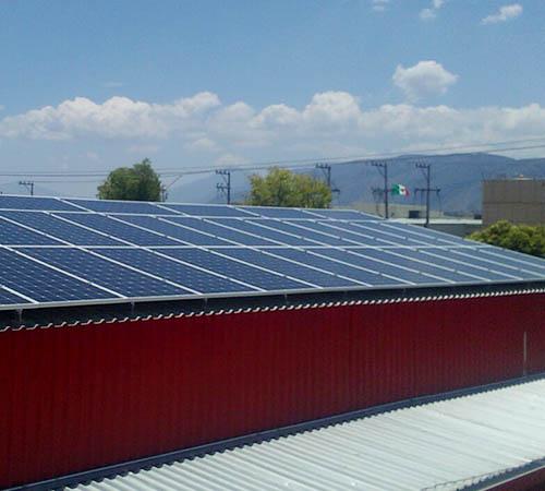 Energía solar con paneles solares para negocios en Saltillo